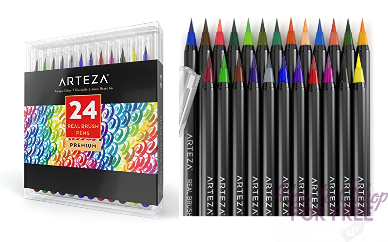 77% OFF Arteza Real Brush Pens! **Lightning Deal**
