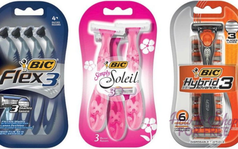 Bic Soleil Razors Only $.50 at Dollar General