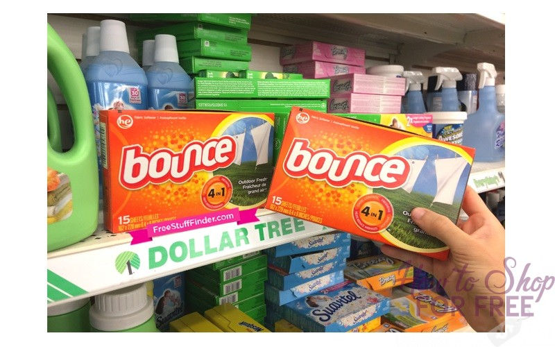 Bounce Dryer Sheets ONLY 50¢ at Dollar Tree!