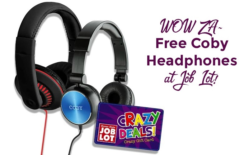 FREE Coby Headphones with Mic!!