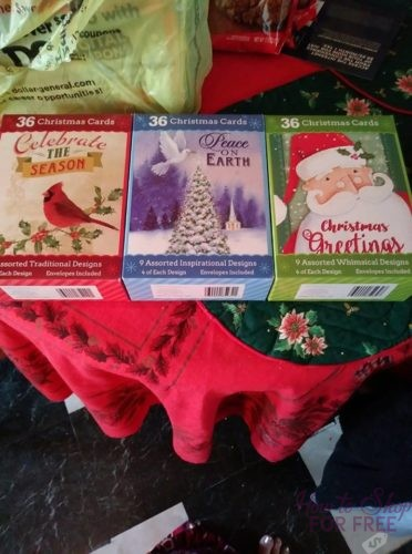 Is Dollar General Open On Christmas.Christmas Cards For Only 04 At Dollar General How To