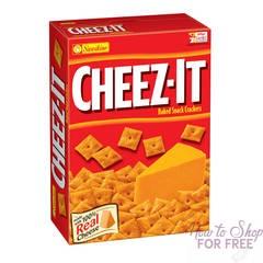 Got a Quarter? Cheeze-It Snacks ONLY $0.25 at CVS, starting 12/17