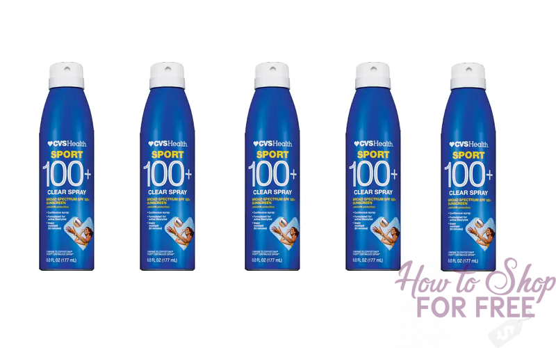 CVS Class Action Says Sport 100+ Sunscreen Spray Is Falsely Advertised