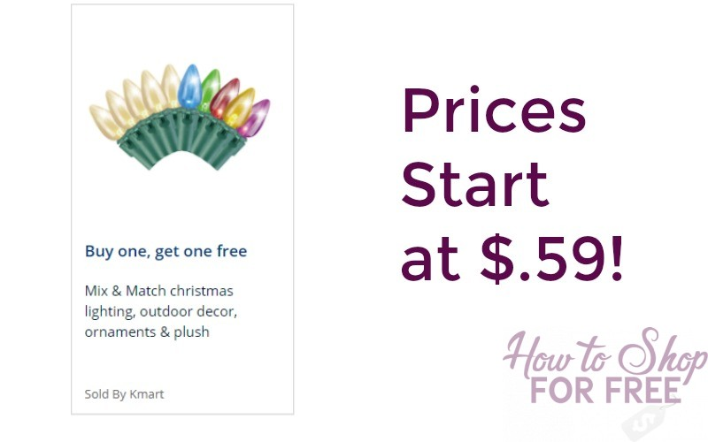 Buy 1 Get 1 FREE Christmas Decorations!