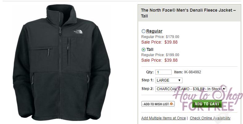 Northface Mens Denali Fleece only $39.48 – Reg. $179.00 + FREE SHIPPING
