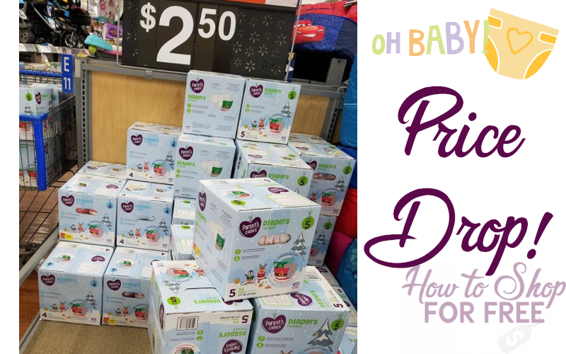PRICE DROP~ Boxed Diapers $2.50!!!
