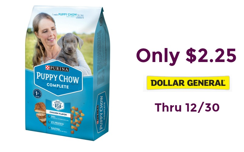 Purina Dog Chow Only $2.25 at Dollar General