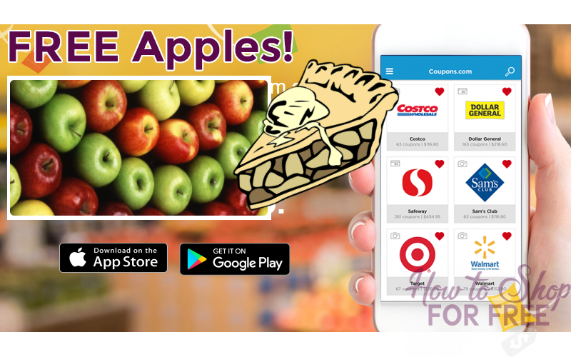FREE APPLES at Walmart!!! ($1.50 Value)