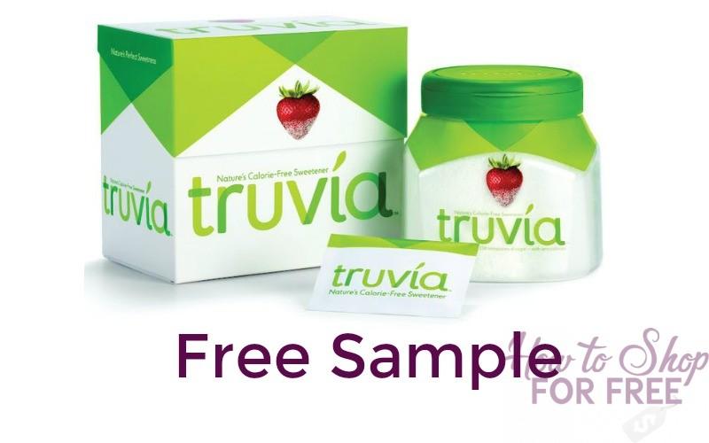 FREE Sample of Truvia Sweetener!