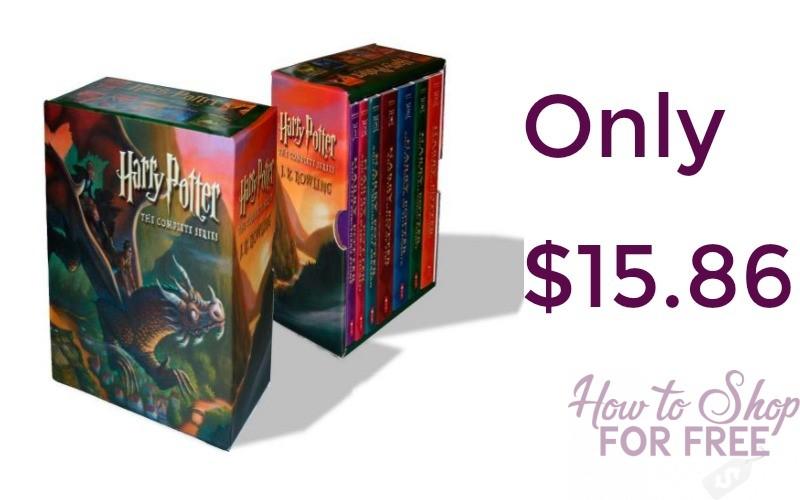 Harry Potter Paperback Box Set (1-7) Only $15.86 Shipped (Reg. $86.93)