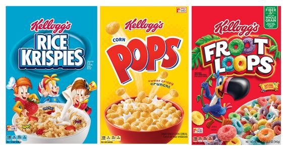 Kellogg's Cereal for change!