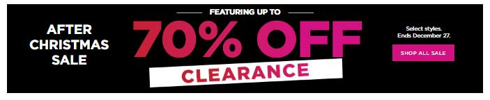 70% off Clearance at Kohl's  + 15% off!