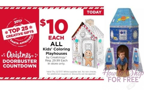$10 Playhouses!! | How to Shop For Free with Kathy Spencer