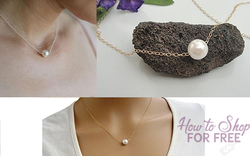 Pretty Pearl Bib Necklace~ $2.29 SHIPPED in time for Christmas!