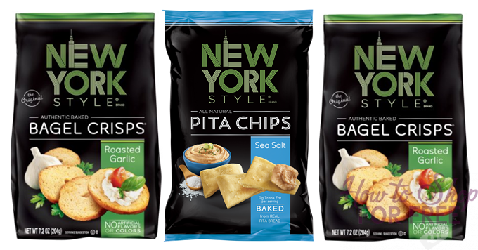 New York Bagel or Pita Chips only $.50!