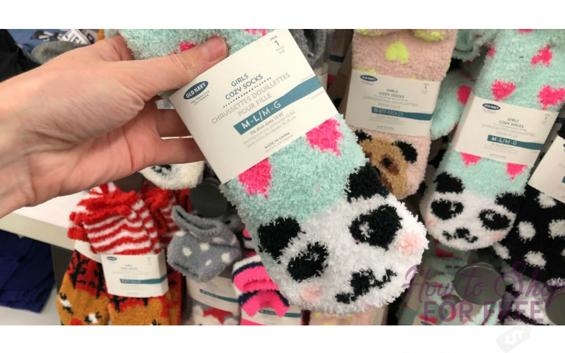 Old Navy Cozy Socks~ $1.00/pair, Today Only!! (12/9)