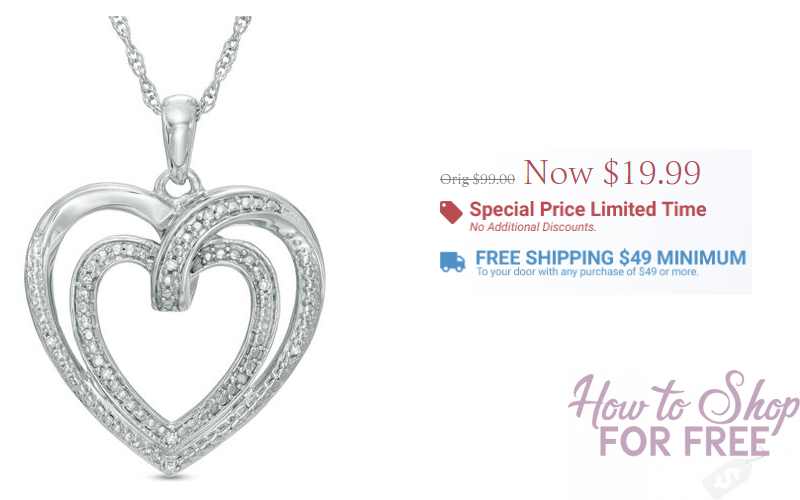 Wow! Diamond Pendant Necklaces Only $19.99 at Zales!