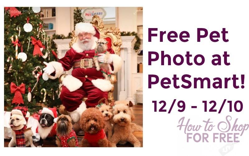 Free Pet Photo with Santa at PetSmart (12/9 – 12/10)