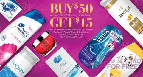 $15 P&G Rebate! | How to Shop For Free with Kathy Spencer