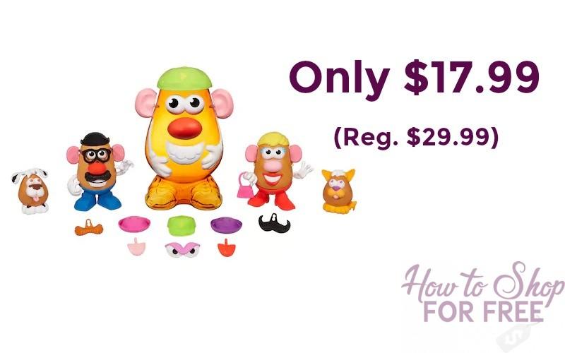 Playskool Mr. Potato Head Super Spud Only $17.99!