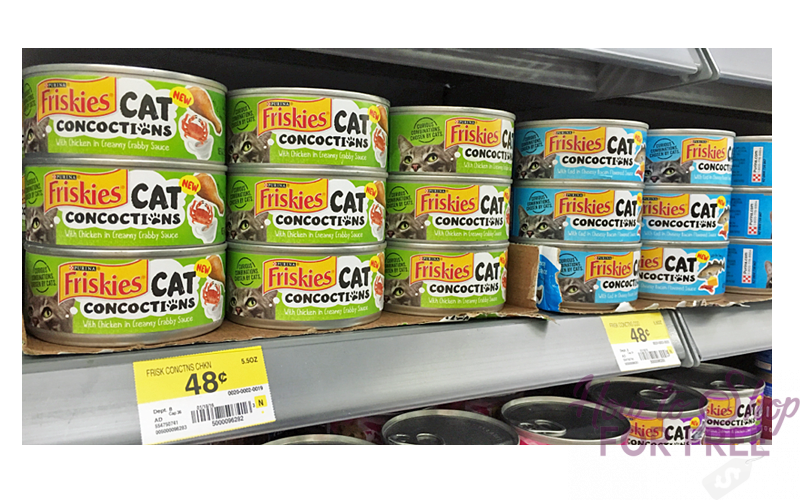 MEOW~ 40¢ Friskies Cans at Walmart! **Print Now**