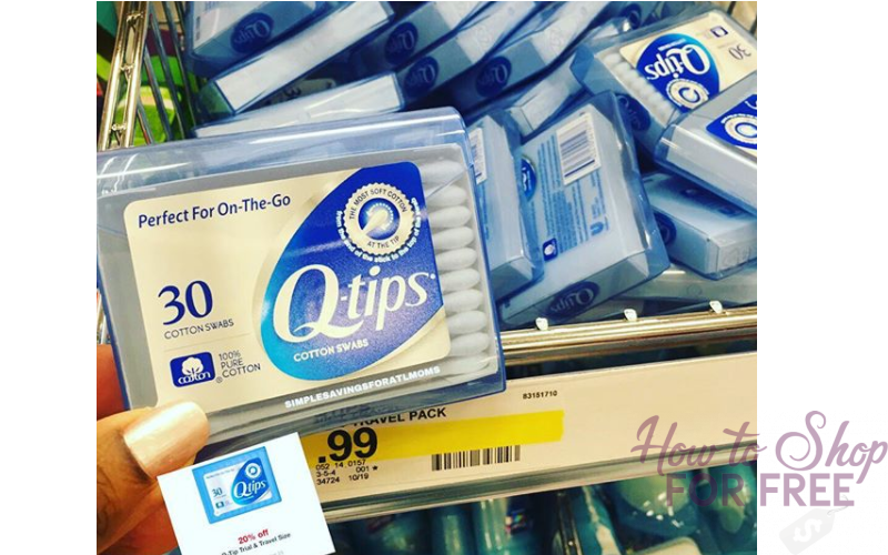 79¢ Q-Tips at Target~ Perfect Size for Stockings!