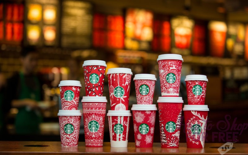 30% Off Starbucks Purchase Coupon (12/9 – 12/10)