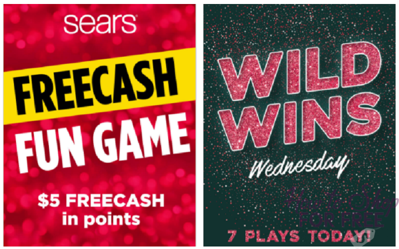 Get $5 in FREECASH from Sears!