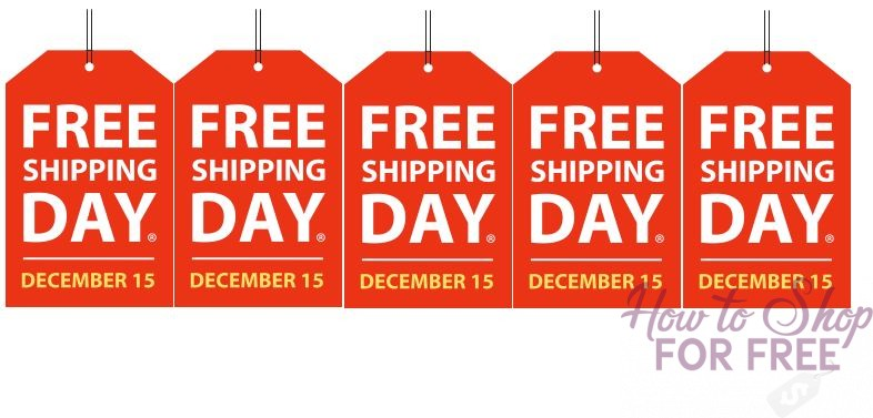 FREE Shipping Day! + Discount Codes! ~ Lots of stores!