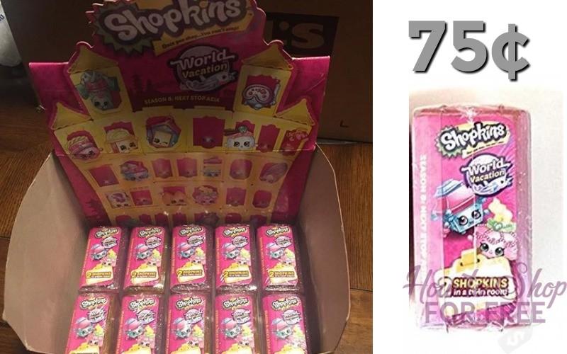 "75¢ Shopkins ""World Vacation"" Asia 2pk!"