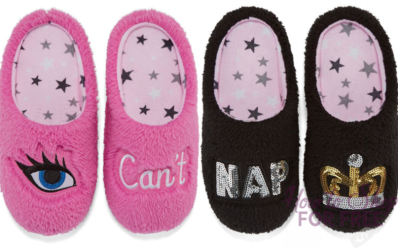 Super Snuggly Slippers for $7.50~ HUGE Savings + Free Ship!