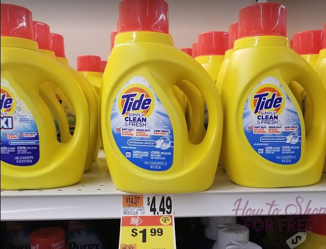 Tide Simply ONLY $.99!!!
