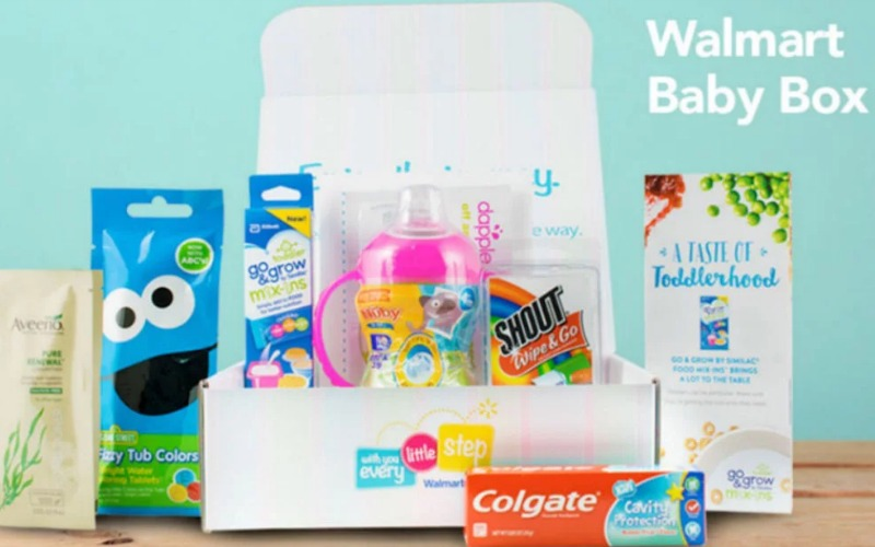 Don't Forget to Grab a FREE Baby Box from Walmart!