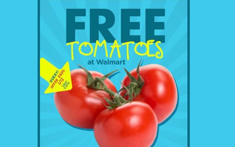 FREE Tomatoes from Walmart!!