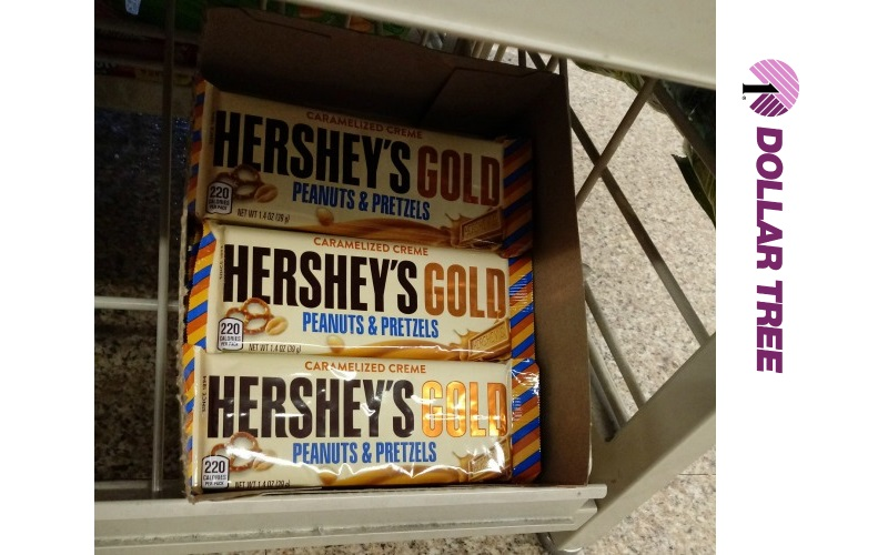 45¢ Hershey's Gold Candy Bars!!