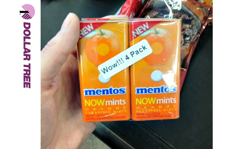 Mentos NOWmints 25¢ each!!!! (No Coupons Needed)