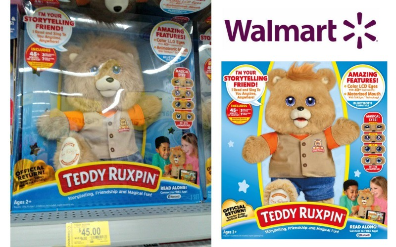 $45 Teddy Ruxpin! (Was/$99) LOTS of Stock!
