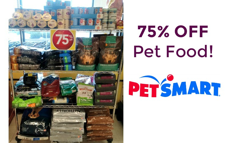 75% OFF Pet Food at PetSmart.. WOWZA!!!