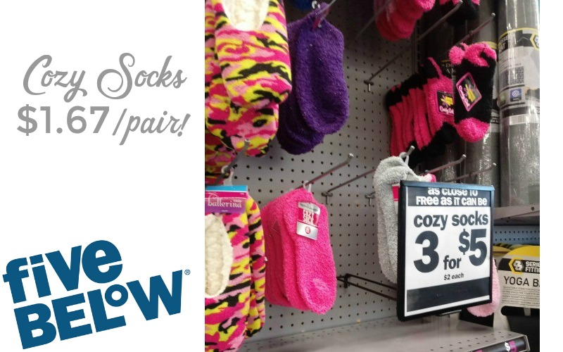 Warm, Fuzzy Socks $1.67/pair! PERFECT for Winter!