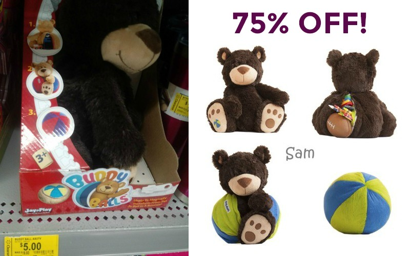 75% OFF Buddy Ball at Walmart!!