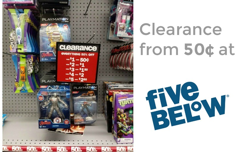 50% OFF Awesome Stuff at Five Below! (All $2.50 or Less!)