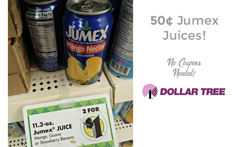 50¢ Jumex Juices~ NO Coupons Needed!