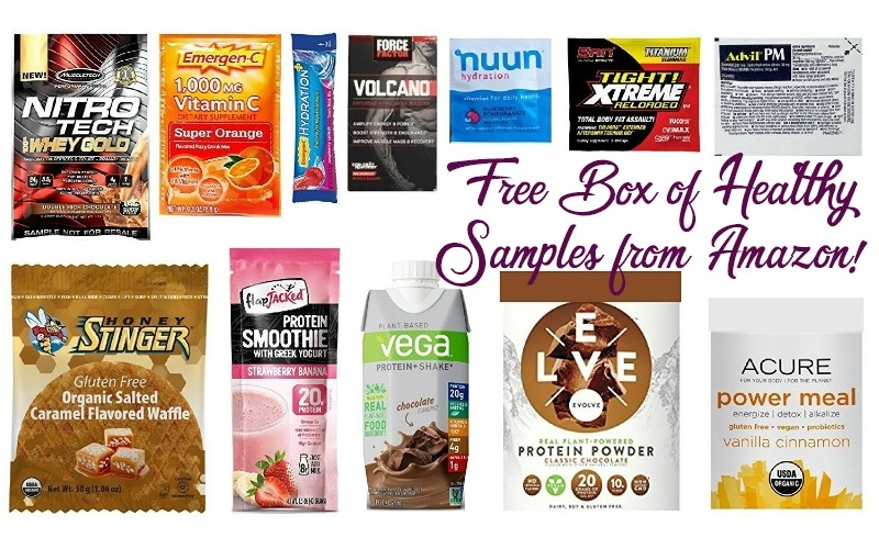 FREE Nutrition & Wellness Sample Box~ Kick Off 2018 Right!