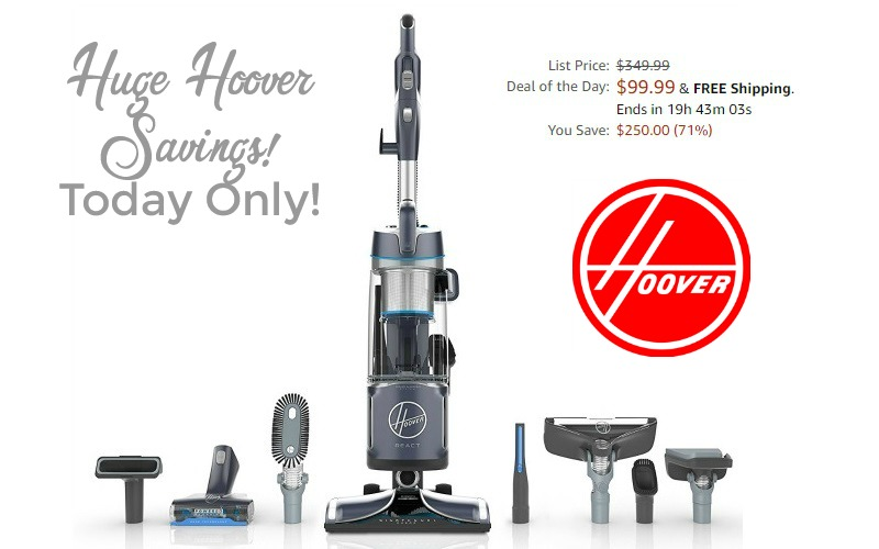 Hoover REACT Bagless Vacuum 71% OFF, Today Only!