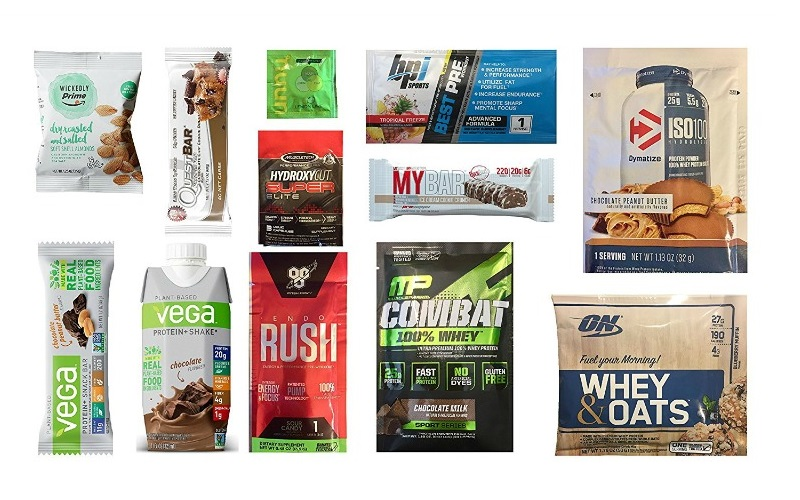 FREE Sports Nutrition Sample Box from Amazon!!