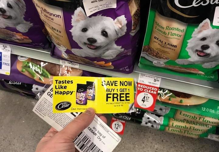 Peelie Alert! FREE Cesar Dog Food at PetSmart ~ Good Through 01/31