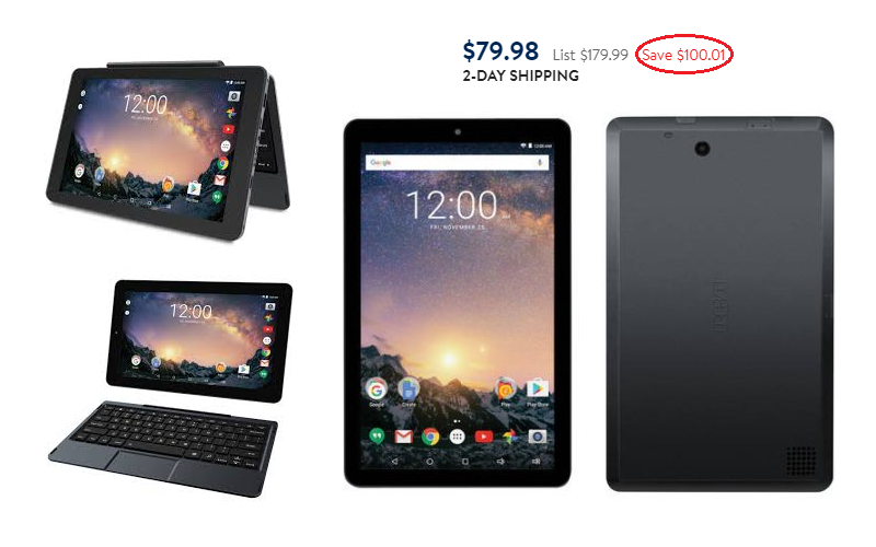 $100 OFF RCA Galileo Pro 11.5″ 32GB 2-in-1 Tablet!