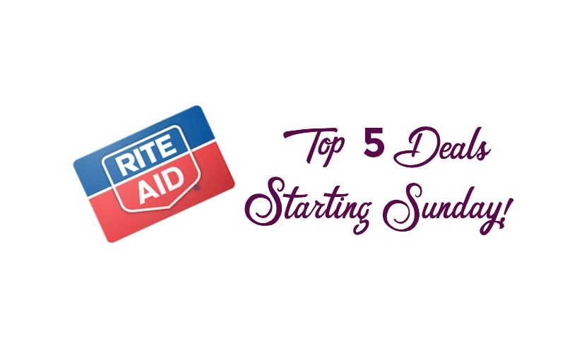 Top 5 Deals at Rite Aid Starting Sunday 02/18!