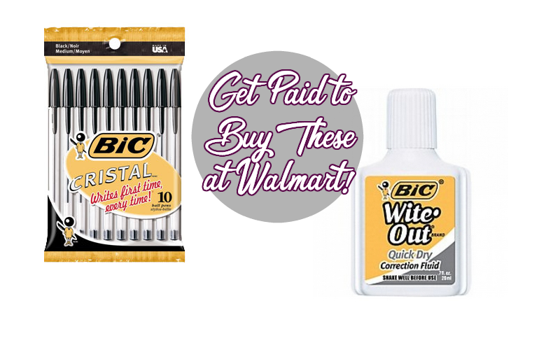 FREE + Overage on BiC Office Supplies at Walmart