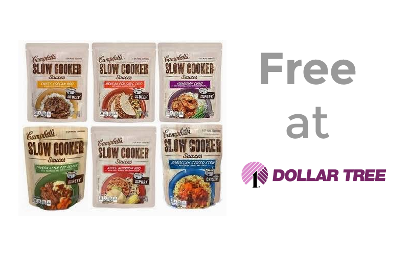 FREE Campbell's Sauces at Dollar Tree!